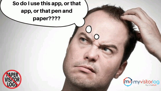 So do I use this app or that app or that pen and paper